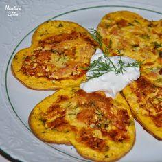 Clatite cu somon / Salmon pancakes - Madeline's Cuisine