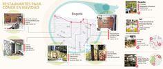 El alumbrado navideño tiene su ruta gastronómica Map, Paths, Parks, Location Map, Peta, Maps