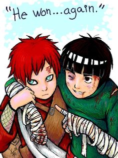 This is my favourite ship - Gaara x Lee