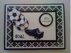 Soccer Goal by brandycox - Cards and Paper Crafts at Splitcoaststampers