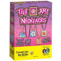 Creativity for Kids Tile Art Necklaces Review