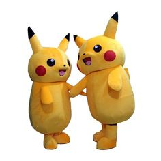 Pokemon Pikachu Adult Mascot Costume Suit Pokemon Collecting