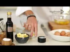 Heston's Beautifully Creamy Scrambled Eggs | Cooking Tips From Waitrose - I like the talk about vinegar at the end...the reason...