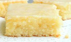 Skinny Lemon Brownies