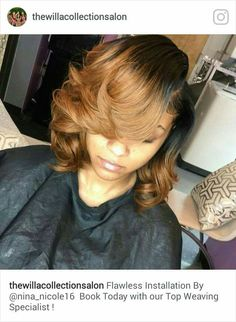 curly hair style curly bob sew in this is the affect get 1130