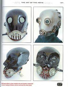 Hellboy - Kroenen Masks