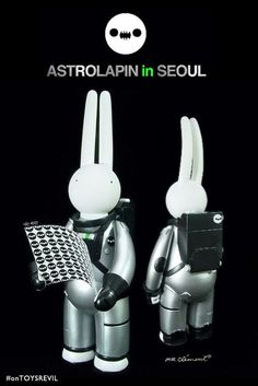 #onTOYSREVIL: Reveal of Astrolapin In Seoul by #MrClement for #EverydayMooonday