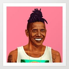 Have you ever imagined world leaders outside of their stuffy offices and constricting suits? Could you even picture them as everyday people, or even better a part of the hipster cultural phenomenom? Lucky for us, Amit Shimoni has done the imagining for us in his HIPSTORY series.