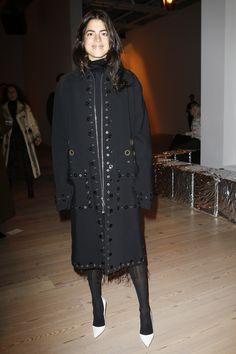 Proenza Schouler Fall 2016 Ready-to-Wear Fashion Show Front Row