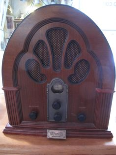 old radio, potential tattoo