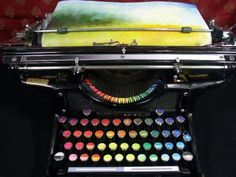 chromatic typewriter! is this real??!