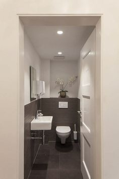 guest bathroom Bathroom Lighting, Toilet, Flush Toilet, Toilets, Powder Room, Toilet Room, Bathroom