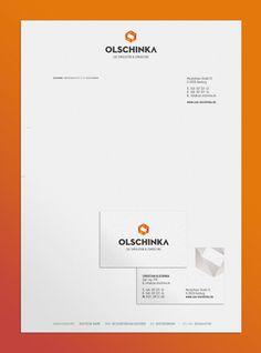 Logo / business card / letterhead | OLSCHINKA on Behance