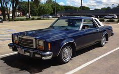 1980 Ford Granada (US) 2-Door Coupe (Above) and 4-Door Sedan.  Came with Four Engine options Two 6 cyl at 3.3L & 4.1L and Two V8's at 4.9L & 5.8L