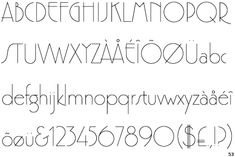 London 1920s type google search font ination pinterest information about the font premier and where to buy it altavistaventures Image collections