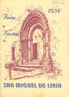 Cubierta Libro de Fiestas de 1954