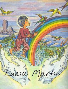 Ilustración  de Lucía Martín para texto de J. Nieto