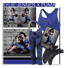 """""""Kylie Jenner X Puma..."""" by nfabjoy ❤ liked on Polyvore featuring Puma, puma and KylieJenner"""