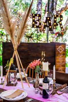 Gorgeous Pampas Grass Ideas for your Wedding | Bridal Musings Wedding Blog 3