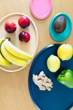 Ellipse Tray M - Edith Anderegg Tray, Snacks, Fruit, Food, Steel, Amazing, Schmuck, Trays, Meals