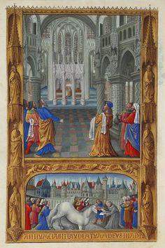 Le Saint-Sacrement (Les Très Riches Heures du duc de Berry)