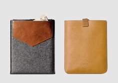 iPad Sleeves: Hard Graft, Eastpak X Wood Wood