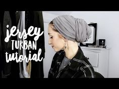 Easy Jersey Turban Tutorial (No Volume!) - YouTube