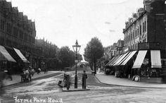 Old London, North London, Finsbury Park, London Pictures, Local History, London England, Shops, Street View, Lost