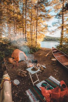 RV And Camping. Ideas To Help You Plan A Camping Adventure To Remember. Camping can be amazing. You can learn a lot about yourself when you camp, and it allows you to appreciate nature more. There are cheerful camp fires and hi Bushcraft Camping, Camping And Hiking, Camping Hacks, Camping Life, Camping Ideas, Camping Essentials, Tent Camping, Camping Outdoors, Campsite