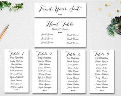 Perfectly Organized Seating Charts From Etsy  TyxgbAjThis