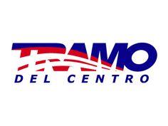 TRAMO = Transportes Moctezuma. En este diseño representamos el camino bajo la llanta en un juego de fondo - figura reversible.