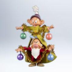 2012 DISNEY - A VERY MERRY CHRISTMAS TREE | Hallmark Ornaments