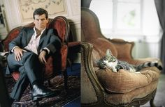 25 Diptychs of Hot Guys and Cats Striking Similar Poses Crazy Cat Lady, Crazy Cats, Cute Cats, Funny Cats, Man Vs Wild, Hot Guys, Cat Pose, Bored Panda, The Funny