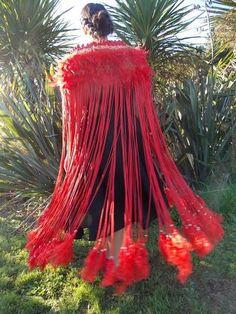 Maori and Pacifika Korowai for sale Abstract Sculpture, Wood Sculpture, Bronze Sculpture, Warrior Fashion, Maori Patterns, Flax Weaving, Flax Flowers, Maori Designs, Maori Art