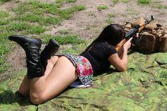 Girls with Guns ...and DAT ASS !