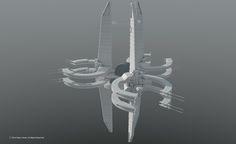 Space Station Concepts - Quick Designs by GlennClovis.deviantart.com on @DeviantArt