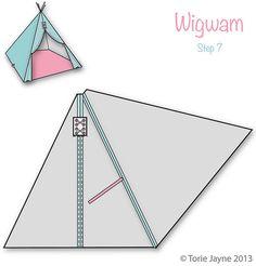 Wigwam Step 7 | Blogged at Torie Jayne | toriejayne | Flickr