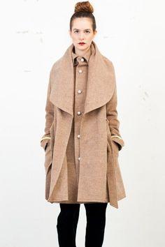 The Dress & Co Parisian Shawl Coat