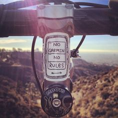 adventure journal daily bike no garmin no rules