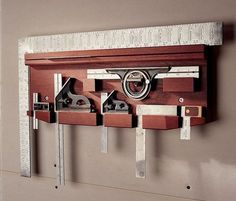 Tips for Tool Storage Organize your shop with these weekend projects. By Tom Caspar Clamp Warehouse Hang your long, heavy clamps on this rack designed for strength. The braces are notched into the bracket arms in a simple version of a timber-frame joint. Mill 2×4 dimensional lumber straight and square to make these brackets. The braces form a 45-degree triangle with the two arms. Miter the ends of the braces … #woodworkingbench