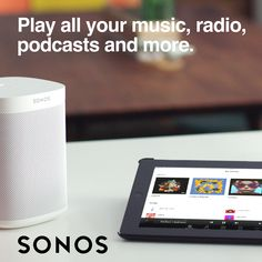 Sonos is the ultimate wireless home sound system: a whole-house WiFi network that fills your home with brilliant sound, room by room. Whole House Wifi, Wireless Home Sound System, Sonos Wireless Speakers, French Country Dining, Music Items, Electronic Items, Apple Products, Technology Gadgets, Smart Home