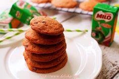 Chocolate Chips Milo Cookies
