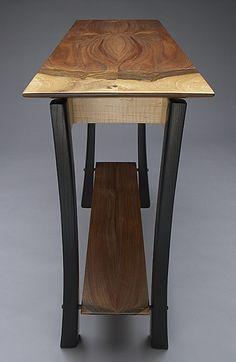Rustic Log Furniture, Wood Furniture Living Room, Shaker Furniture, Custom Made Furniture, Solid Wood Furniture, Fine Furniture, Unique Furniture, Furniture Design, Wooden Slab Table