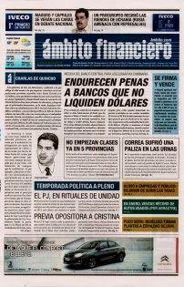 OpinionPublicaSantafesina(ops): los diarios de hoy en la argentina