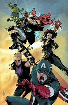 Captain America & Avengers by Bentti Bisson Marvel Comic Character, Comic Book Characters, Marvel Characters, Comic Books Art, Comic Art, Marvel Comic Universe, Marvel Dc Comics, Marvel Heroes, Captain Marvel