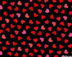 Heart Stencil Mini Hearts Background Pattern Template Templates