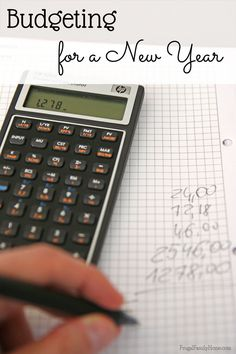 The start of the new year means a fresh start too. If your budgeting didn't go as well as it could have last year, now is the time to set up a  new budget to meet your financial goals. I've got a few tips to help you adjust your budget to fit the new year.