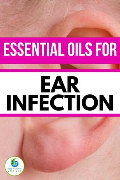 Are you in need of ear infection relief? Discover the best essential oils for ear infection. You will find these essential oils helpful if you are looking for how to get rid of ear infections naturally. Ear Infection Relief, Natural Ear Infection Remedy, Remedies For Ear Infections, Natural Remedies, Essential Oils Ear Infection, Oils For Ear Infection, Essential Oils For Babies, Best Essential Oils, Young Living Essential Oils