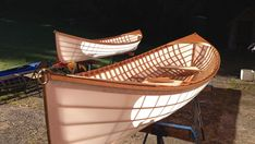 Skin on frame Adirondack Guide boat. Check out Cape Falcon kayak...