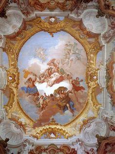 Interni restaurati Villa Pisani #villapisani #villevenete #strà